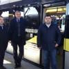 L'assessore regionale alla Mobilità Sorte in visita agli impianti TEB