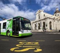 In servizio a Cagliari i filobus full-electric del progetto ZeEus