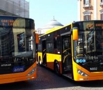 La nuova flotta ecologica ANM, a Napoli 60 bus di ultima generazione