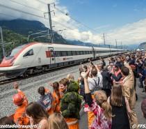 Inaugurato il tunnel del San Gottardo