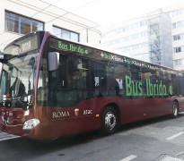 Presentato il primo autobus ibrido di ATAC