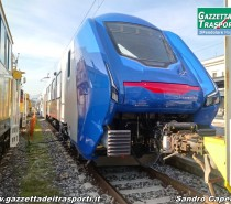 """Pronto il primo convoglio """"Blues"""" di Trenitalia"""