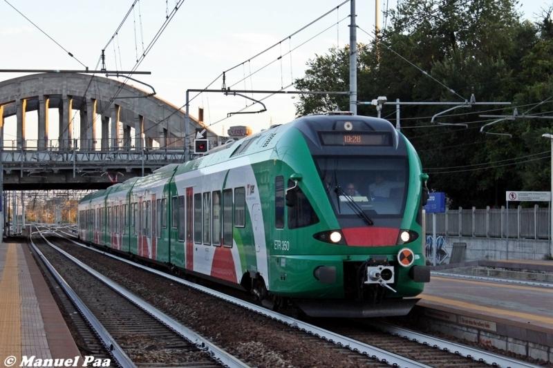 Etr350 Fer in servizio tra Bologna e Milano - Foto Manuel Paa