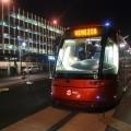 Il tram in piazzale Roma a Venezia - Foto Alessandro Zanchini/Comune di Venezia