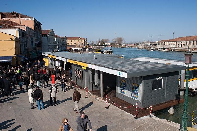 Il nuovo pontile F e G a Piazzale Roma - Foto Comune di Venezia