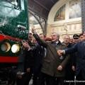 Moretti e Maroni inaugurano il primo Vivalto Trenord - Foto Gruppo Fs Italiane