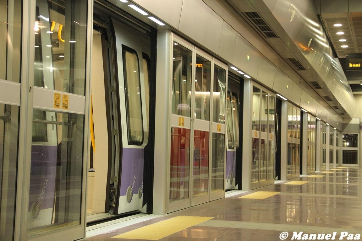 La linea lilla M5 di Milano - Foto Manuel Paa
