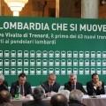 Conferenza stampa di presentazione dei nuovi convogli Trenord - Foto Daniele Barrella