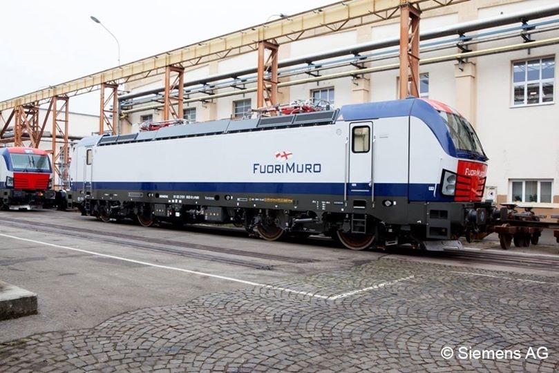 Le nuove locomotive Vectron E191 della Siemens per Fuorimuro - Foto Siemerns AG