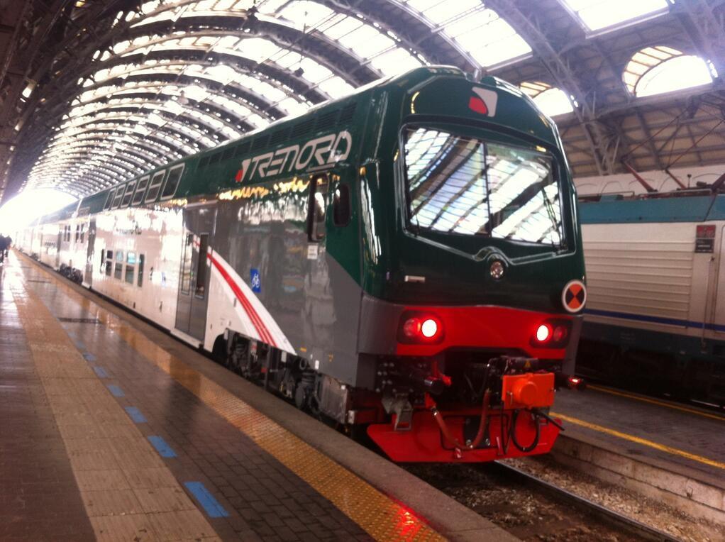 Il Vivalto a Milano Centrale - Foto Trenord