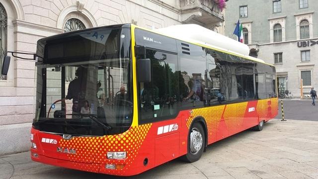 I nuovi bus Man Lion's City di Bergamo - Foto Atb