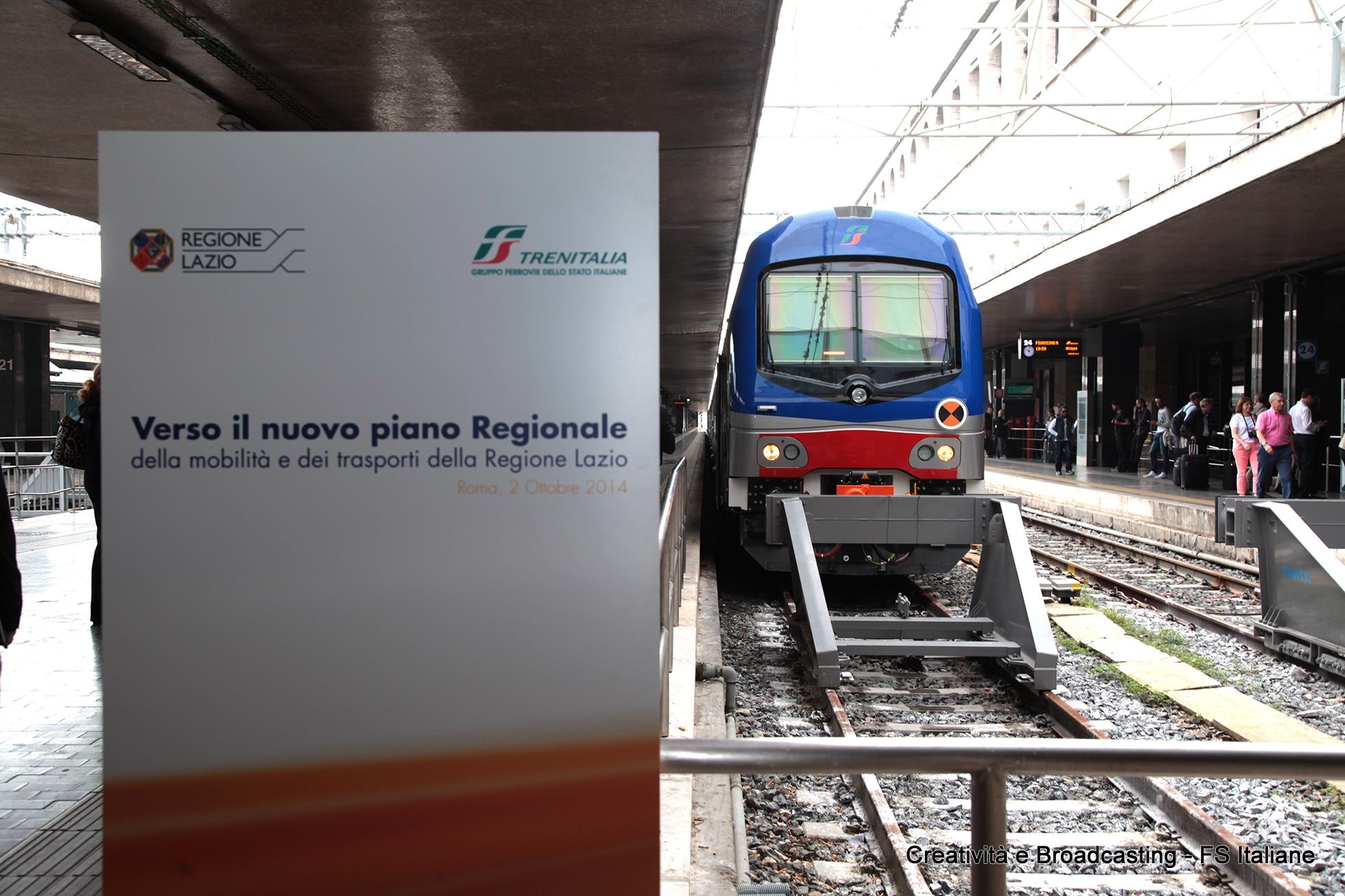 Il nuovo Vivalto Regione Lazio - Foto Gruppo Ferrovie dello Stato Italiane