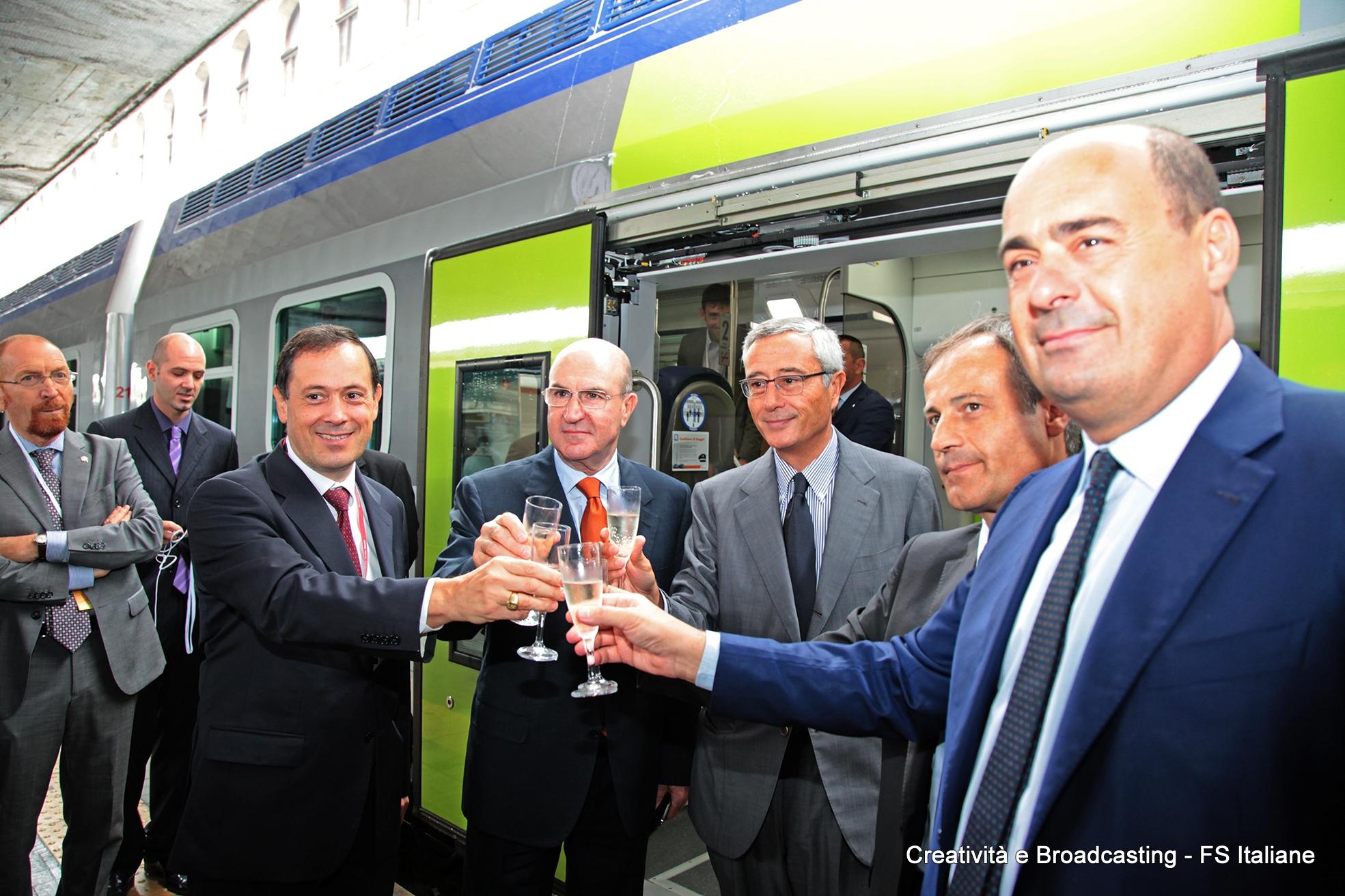 Brindisi nuovo Vivalto Regione Lazio - Foto Gruppo Ferrovie dello Stato Italiane
