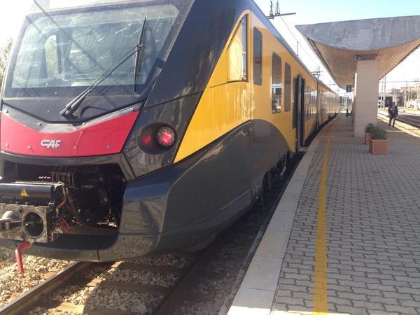 Il moderno ETR452 di Ferrotramviaria per i servizi nel Nord Barese - Foto Ferrotramviaria