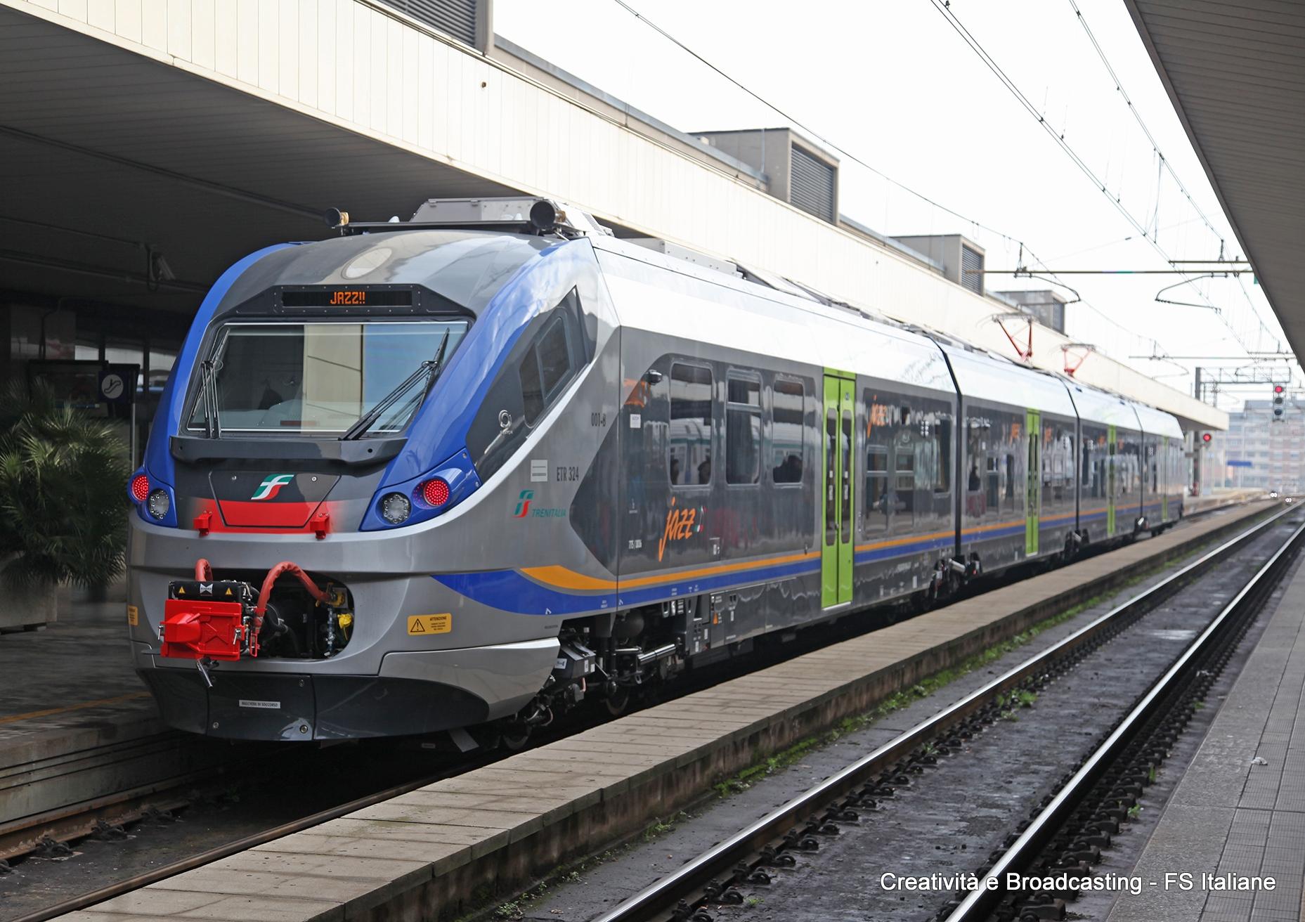 L'Etr425 Jazz a Pescara - Foto Gruppo Ferrovie dello Stato Italiane