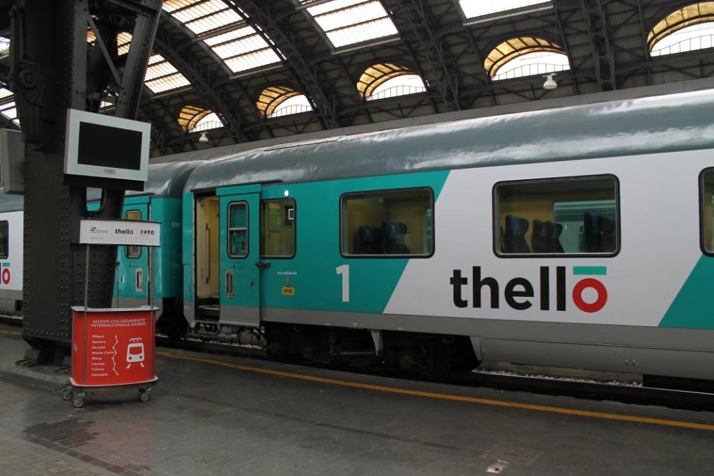 La carrozza di prima classe del Thello Milano-Marsiglia - Foto Daniele Barrella