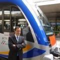 Vincenzo Soprano, Ad di Trenitalia, presenta il nuovo Atr220 - Foto Giuseppe Mondelli