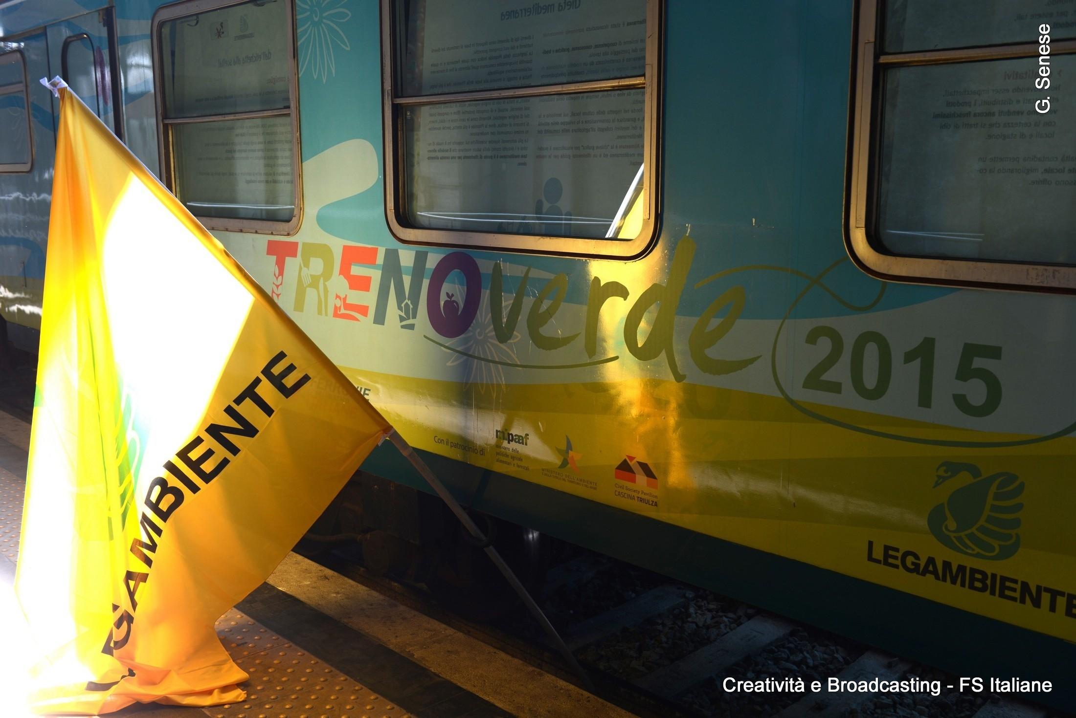 Treno Verde 2015 - Foto Gruppo Ferrovie dello Stato Italiane