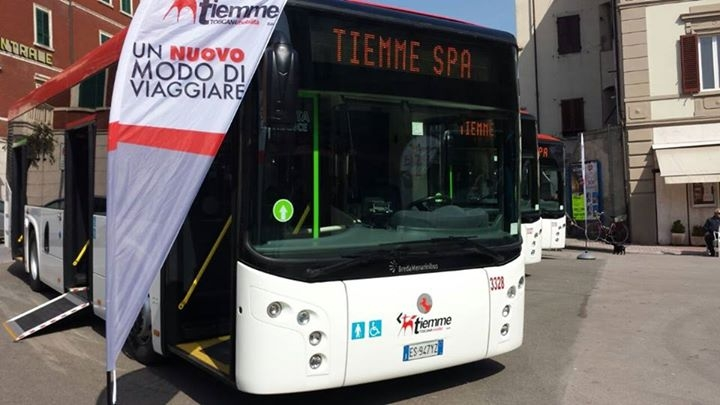 I nuovi bus Tiemme di Piombino - Foto Tiemme