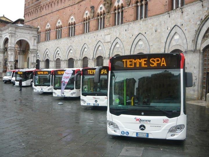 I nuovi bus Tiemme per il bacino di Siena - Foto Tiemme