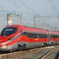 Il Frecciarossa 1000 in arrivo a Roma - Foto Giuseppe Mondelli