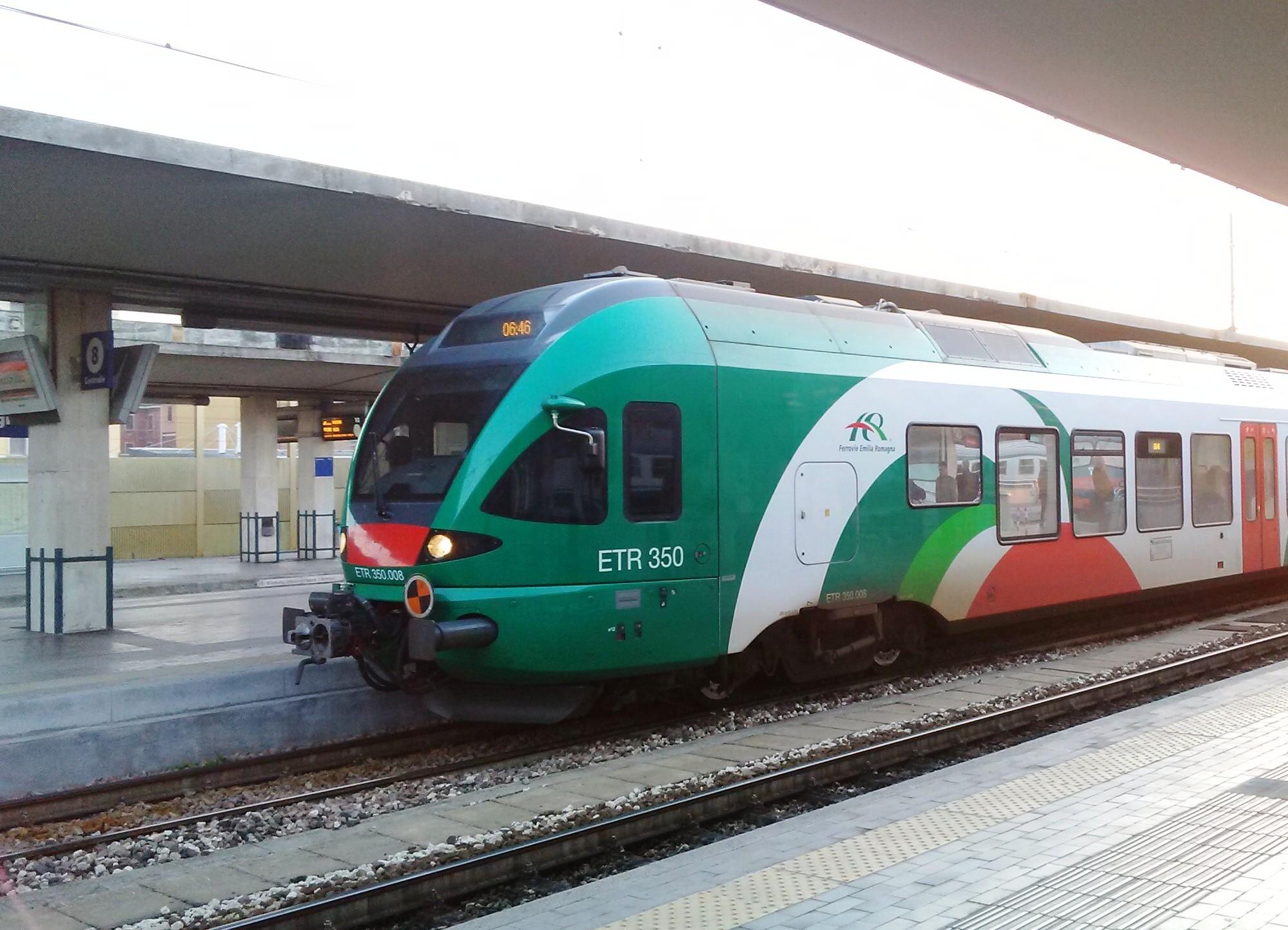 Il Flirt Etr350 di Tper - Foto Giovanni Giglio