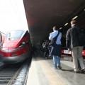 Il Frecciarossa 1000 in sosta a Roma Termini - Foto Francesco Pizzuti
