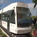 MetroTram della linea 2 di Cagliari in sosta nel nuovo capolinea di Settimo San Pietro - Foto Regione Sardegna