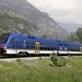 Fotomontaggio dei nuovi convogli bimodali - Foto Stadler