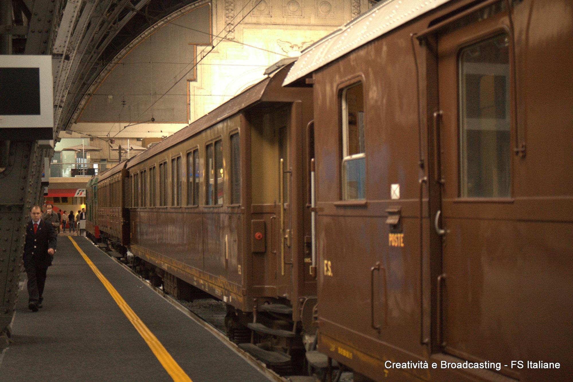 Il treno storico di Fondazione FS Milano-Varallo - Foro Gruppo FSI