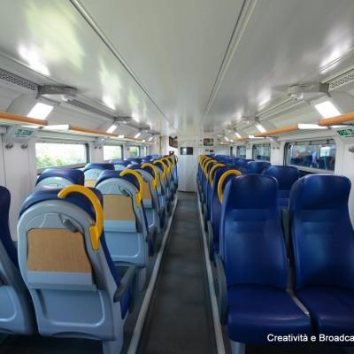Interni di una carrozza Vivalto - Foto Ferrovie dello Stato Italiane