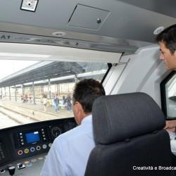 Cabina di guida dell'Etr563 Caf Civity - Foto Gruppo Ferrovie dello Stato Italiane