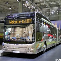 Bus Lion's City presso lo stand Man all'UITP 2015 Milano - Foto Manuel Paa