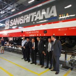 La nuova locomotiva E483 Sangritana - Foto Sangritana