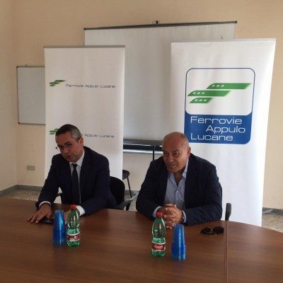 Il Presidente delle Fal Matteo Colamussi e l'Assessore regionale ai Trasporti Giovanni Giannini - Foto FAL