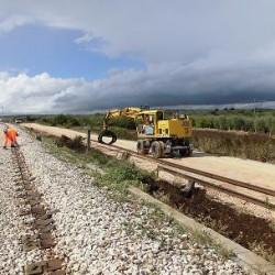 La vecchia e la nuova tratta - Foto Ferrovie del Gargano