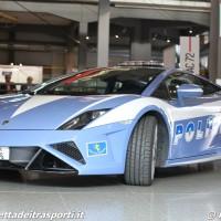 Lamborghini Gallardo della Polizia Stradale al Move.App Expo 2015 - Foto Manuel Paa