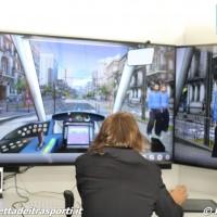 Simulatore di guida tram Alstom - Foto Manuel Paa