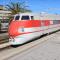 In transito a Livorno l'Etr450-04 diretto alla demolizione, trainato dalla E402.119 (immagine tratta dal video https://youtu.be/eL4osE8z-nw) Foto Cristian Giovangiacomo