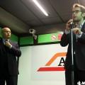 L'assessore Maran e il presidente Atm Rota - Foto Manuel Paa