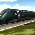 Rendering del treno GWR che Hitachi Rail Italy realizzerà a Pistoia