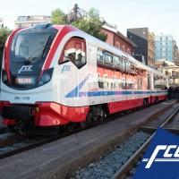 Il nuovo treno Vulcano a Catania Borgo - Foto FCE