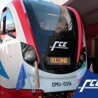 Il nuovo treno Vulcano - Foto FCE