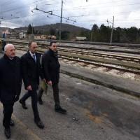 Il presidente De Luca a Benevento Appia - Foto Regione Campania/Massimo Pica