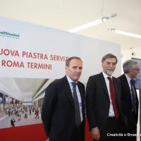 Gallo, Delrio e Gentile - Foto FS Italiane