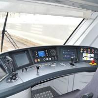 Cabina di guida dell'ETR452 Civity - Foto Ferrotramviaria
