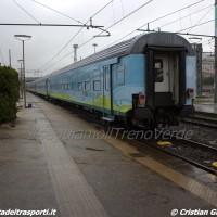 25/03 – Il TrenoVerde 2016 in transito a Livorno Centrale durante il trasferimento da Roma a Novara – Foto Cristian Giovangiacomo