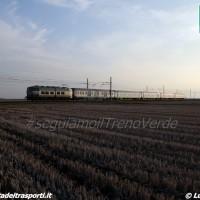 25/03 - TrenoVerde 2016 in transito a Ponzana, tra Torino e Novara - Foto Luca Bergamini