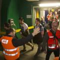 Esercitazione di evacuazione nella Galleria di base del San Gottardo - Foto SBB/FFS