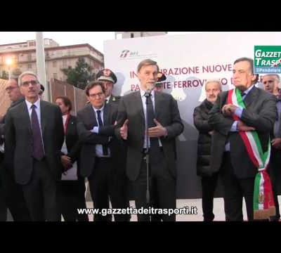 Passante Ferroviario di Palermo - Intervento del Ministro Del Rio